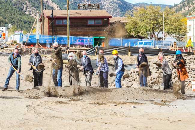 Collaborative Health Center Ground Breaking - RMP